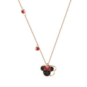 Jewelry - JustIn❤️Titanium Steel Rose Gold Minnie Necklace